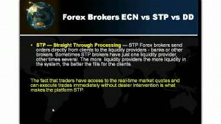 Forex Broker Types - MM,NDD,STP,ECN