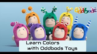 Learn Colors with Oddbods Toys