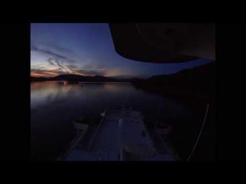 Night Northbound Wrangell Narrows