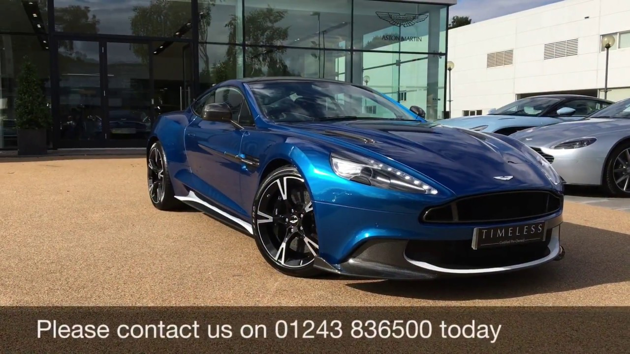 aston martin vanquish s coupe finished in ming blue youtube. Black Bedroom Furniture Sets. Home Design Ideas