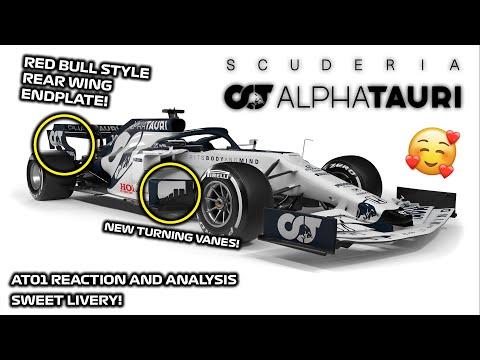 ALPHA TAURI AT01 REACTION AND ANALYSIS!   2020 ALPHA TAURI F1 CAR