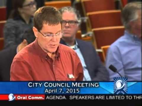 Middle Schooler Speaks about Crowded School at 2015.04.07 Cupertino Council Meeting