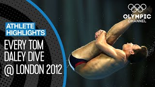 Tom Daley 🇬🇧  - 18-year-old Diver gaining Olympic Bronze! | Athlete Highlights