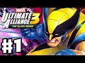 Marvel Ultimate Alliance 3: The Black Order - Gameplay Walkthrough Part 1 - Guardians of the Galaxy!