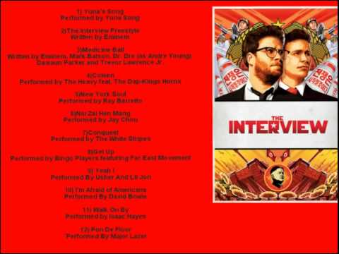The Interview Official Movie Soundtrack List 2014