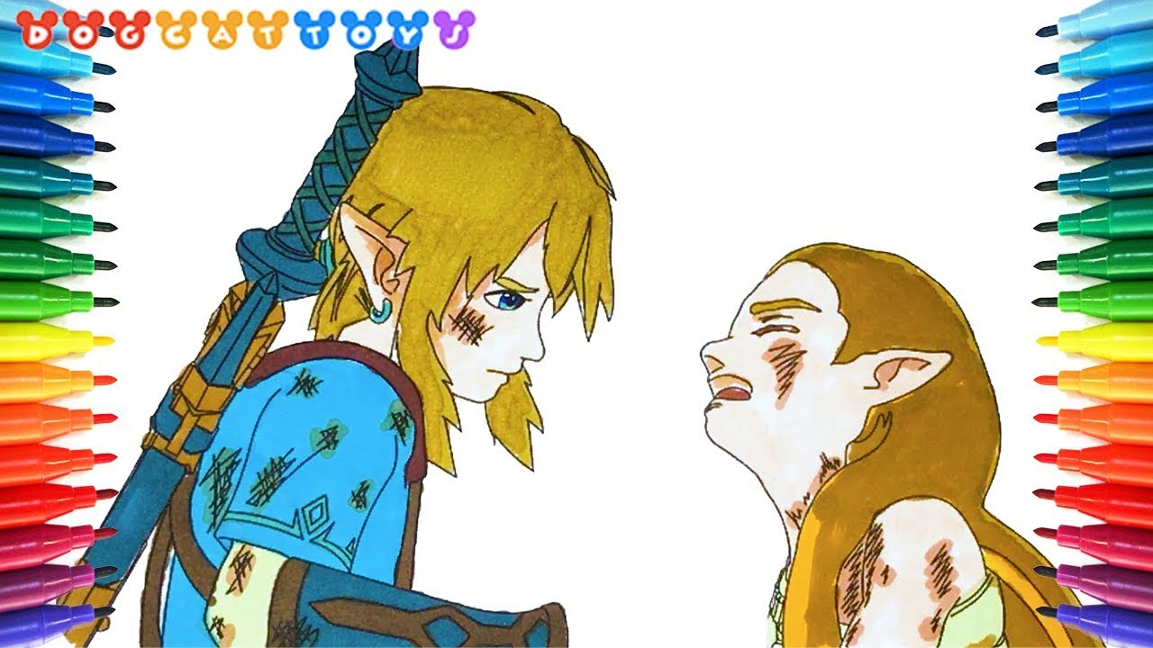 How To Draw The Legend Of Zelda Breath Of The Wild 184