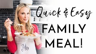 Quick & Easy Family Meal Hacks | Molly Sims 2018