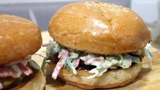 Vegetable Burgers recipe - Easy Burger Recipe - Veg Burger Recipes in Hindi