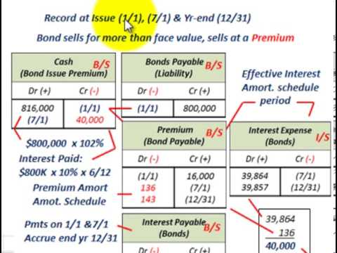 Bond Amortization (Calculating Effective Interest Rate  Setting Up