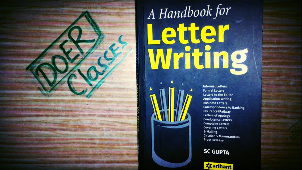Letter Writing Book Arihant Publication Book Review