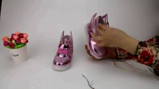 Children shoes with light Replace the battery