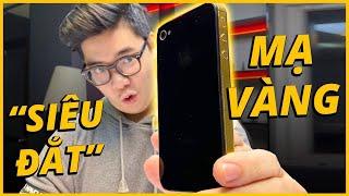 TRÊN TAY iPHONE 4S MẠ VÀNG SIÊU ĐẮT!!!