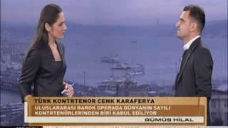 TRT TURK - Gumus Hilal Cenk Karaferya Interview Part 1