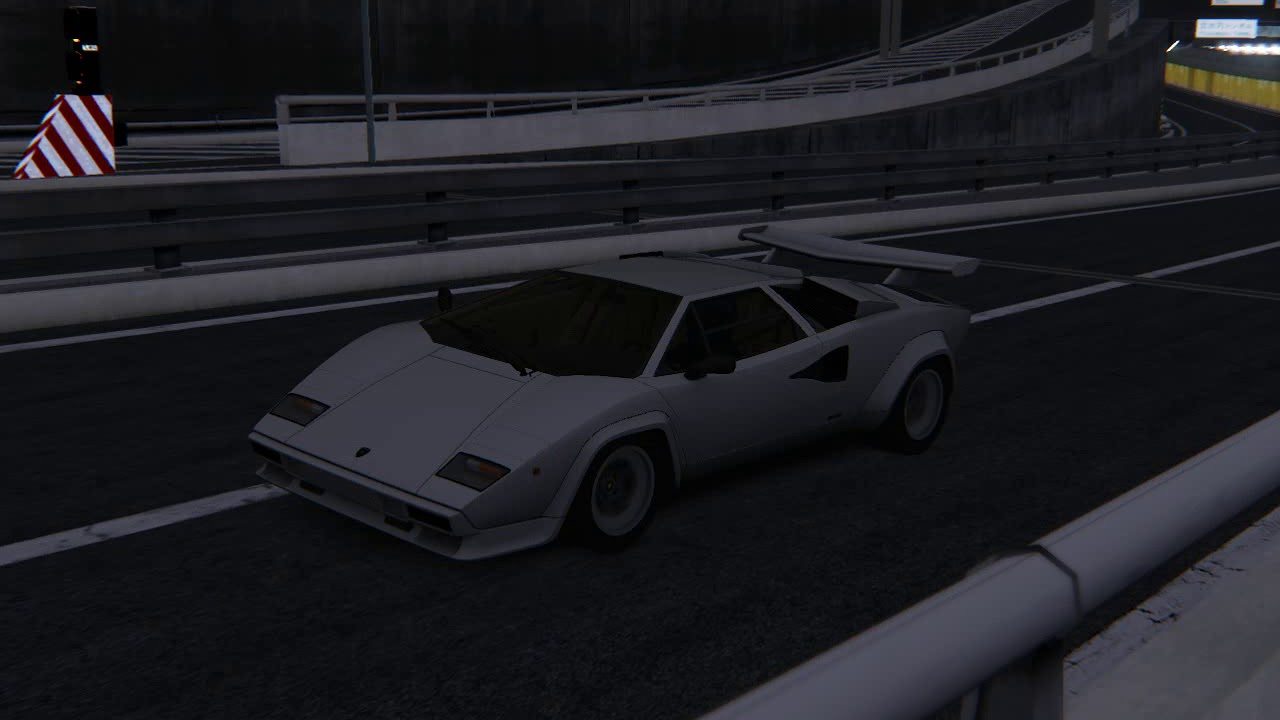 Assetto Corsa Lamborghini Countach Lp500 Wangan Night Youtube