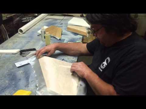 how to fiberglass a RC airplane