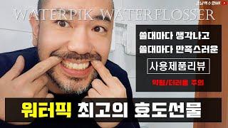최고의 효도선물 워터픽 리뷰 (약혐/더러움 주의)