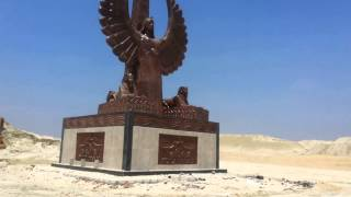 Statue of Liberty on the bank of the new Suez Canal July 28, 2015