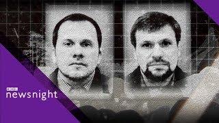 Revealed: Novichok suspect's real name - BBC Newsnight