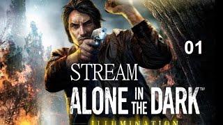 Alone  in The Dark illumination PC  STREAM part 01