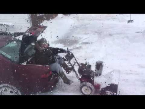 'East coast snowblower' the TRUE lazy-mans way of snow blowing