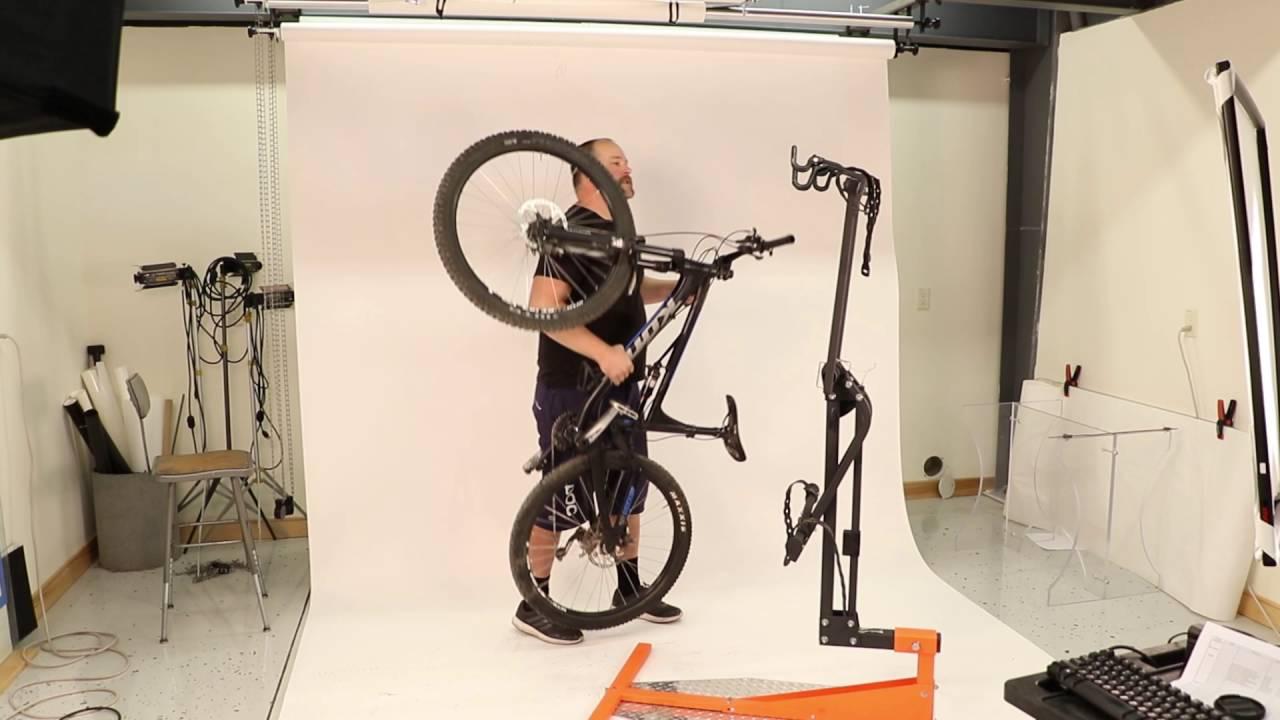 softride hang 2 bike rack demo how to load bikes onto rack
