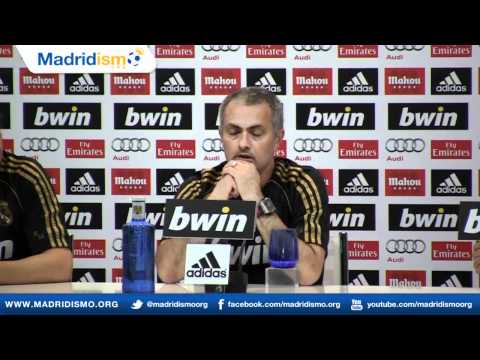 Full Mourinho and Staff Press Conference, English Version