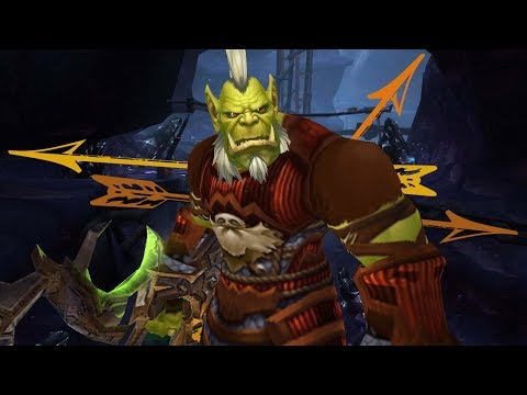 WINDHUK - Let's Commentary WoW Legion PvP - Level 110 Treffsicherheit Jäger