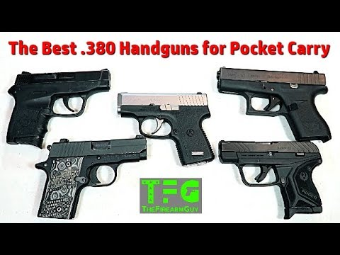The Best  ACP Handguns for Pocket Carry - TheFireArmGuy