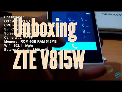 Unboxing ZTE V815W
