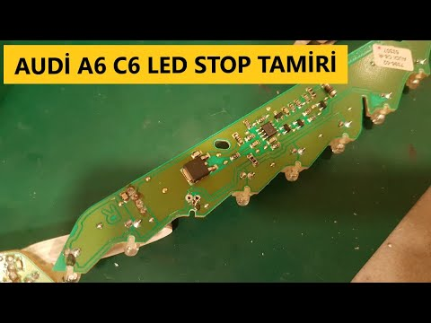 Audi A6 C6(2004-2008) Led Stop Tamiratı // How to Repair Audi A6 C6 Led Tail Light
