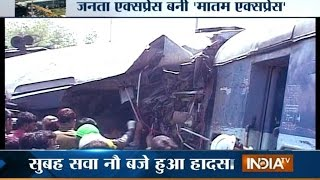 34 Killed and 150 Injured as Train Derails near Uttar Pradesh's Rae Bareli - India TV
