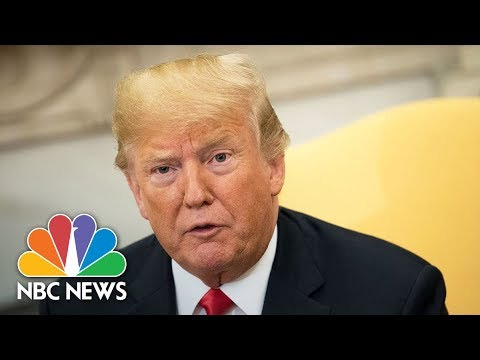 President Donald Trump Makes Announcement From The White House | NBC News