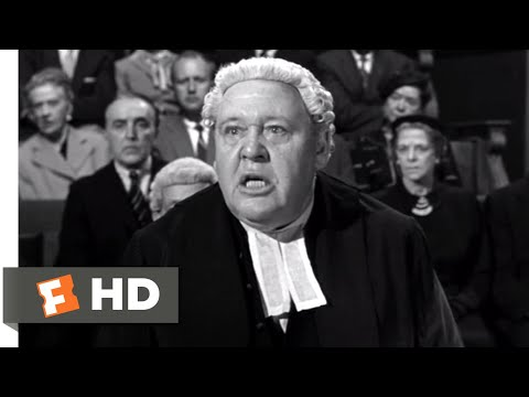 Witness for the Prosecution (1957) - A Chronic and Habitual Liar Scene (8/12) | Movieclips