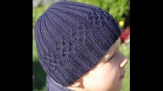Теплая шапочка для мальчика