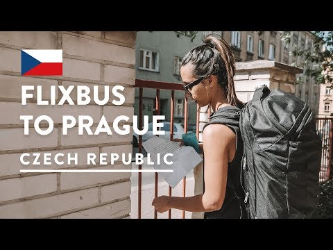 CHEAP AND EASY! BERLIN TO PRAGUE FLIXBUS | Czech Vlog | Europe Bus