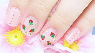 [Error404] 딸기 글리터 네일아트 / Straw…