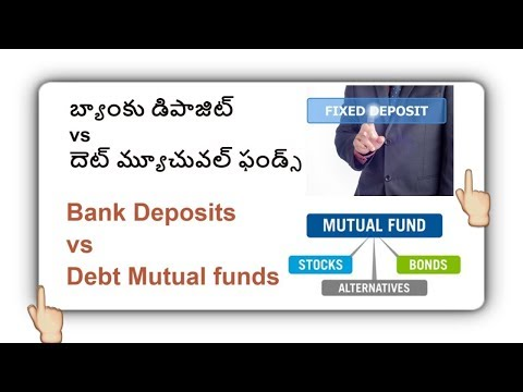 Bank Fixed Deposits and Debt  Funds Tax Benefits(Telugu)