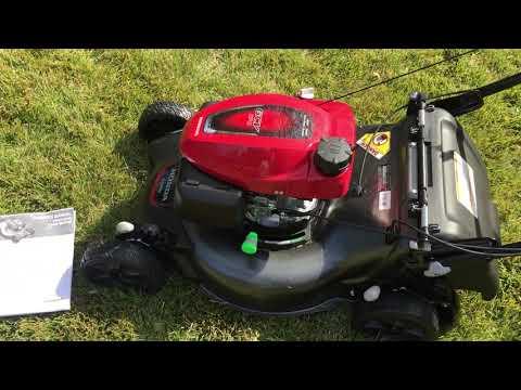 Honda 21 In. 3-in-1 Variable Speed Gas Walk Behind Self Propelled Lawn Mower With Blade Stop