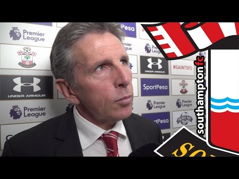 Puel delighted after Southampton's first Premier League win of season