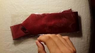Посылка с Aliexpress. Обзор недорогого галстука.