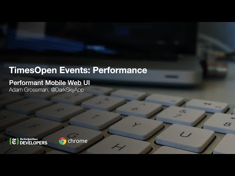 TimesOpen: Performant Mobile Web UI