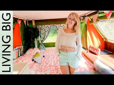City Living In A Pop Top Camper