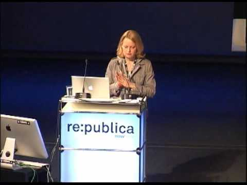 re:publica 2010 - Miriam Meckel - This object cannot be liked on YouTube