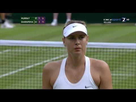 Samantha Murray (GBR) vs. Maria Sharapova (RUS) WIMBLEDON 2014 (1st round)