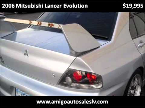2006 Mitsubishi Lancer Evolution available from Amigo Auto S