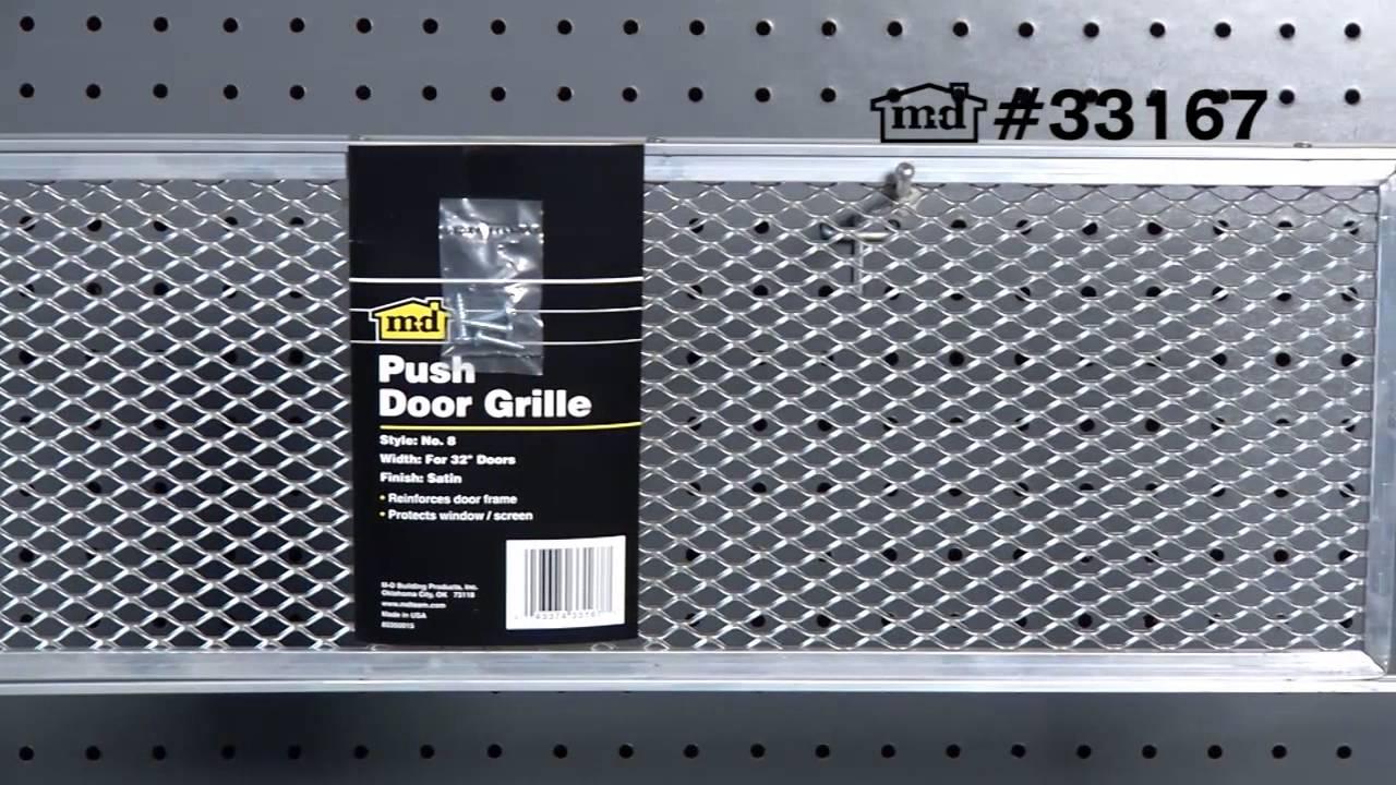 Screen door push grill 8 x 32 33167 youtube screen door push grill 8 x 32 33167 vtopaller Image collections