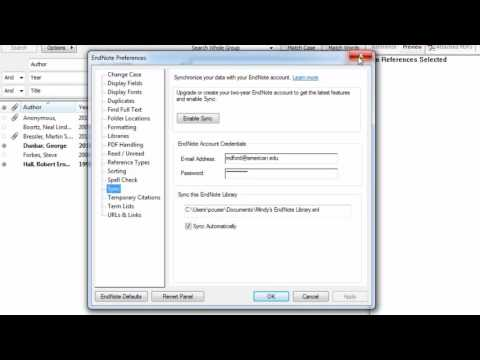 How to Share an Entire EndNote Library