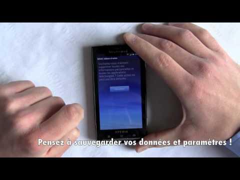 Sony Ericsson Xperia X10 - Faire Un Hard Reset