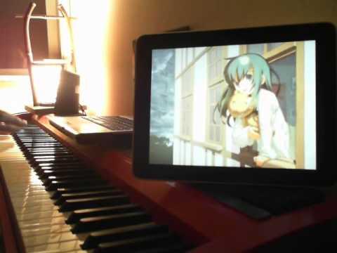 【キノの旅】the Beautiful Worldを弾いてみた。【ピアノ】