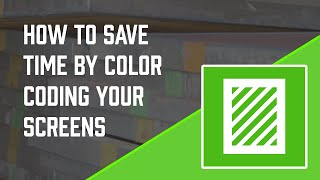 Color Coding Your Screens for Grab-And-Go Convenience